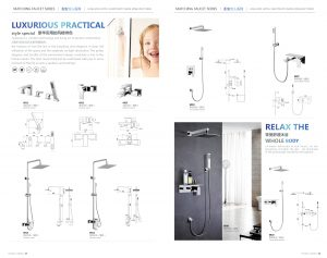 bathroom shower sets