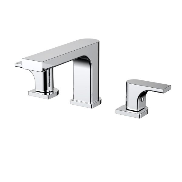 Top quality 2018 newest style double lever basin mixer