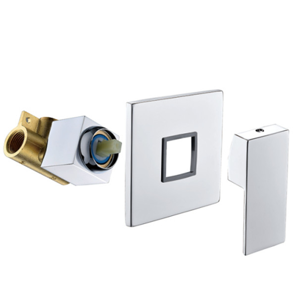 Factory selling brass concealed valve body with one way
