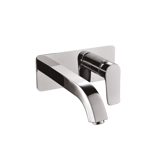 Contemporary fashion style wash basin taps with single handle