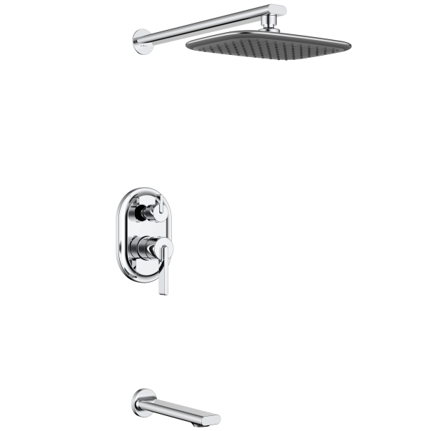 High quality HGAO sanitary concealed bath shower tap