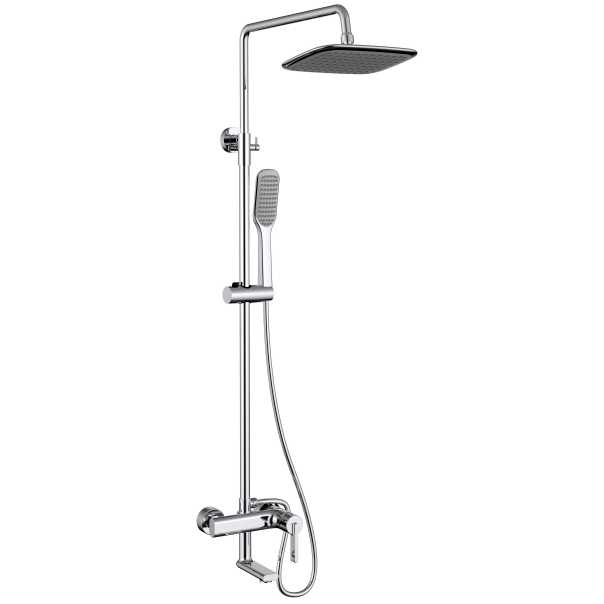 High quality surface mounted bathroom shower faucet set