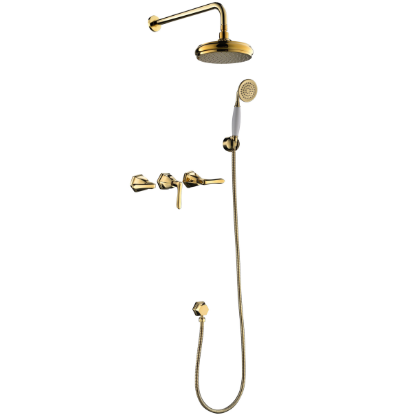 How to installation the shower faucet?