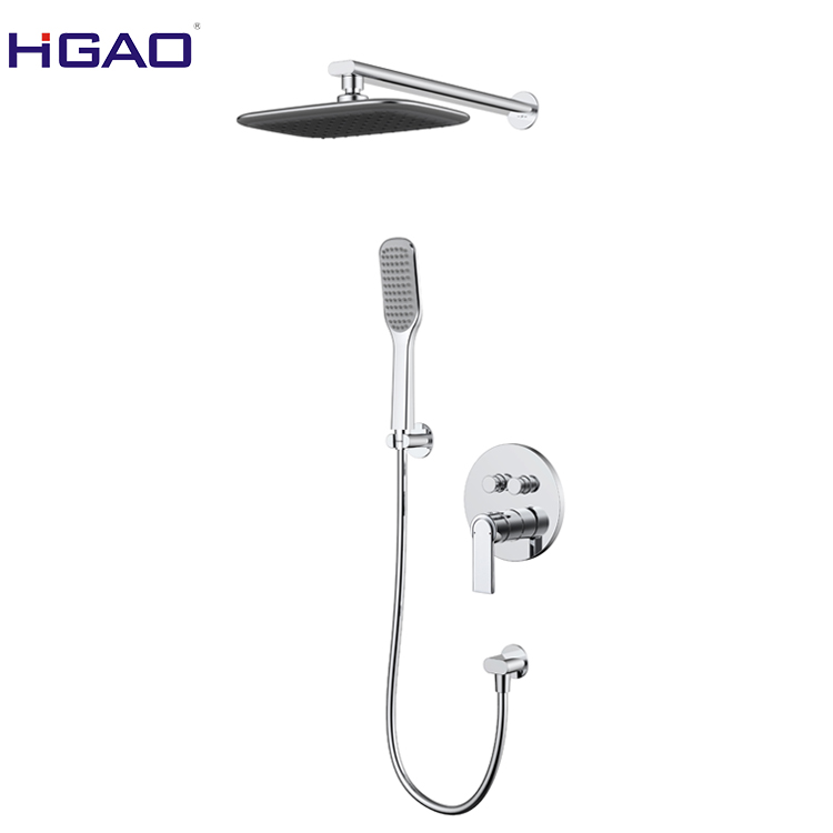 Polished brass shower faucet made in China factory